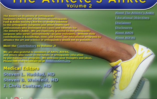 The Athlete's Ankle