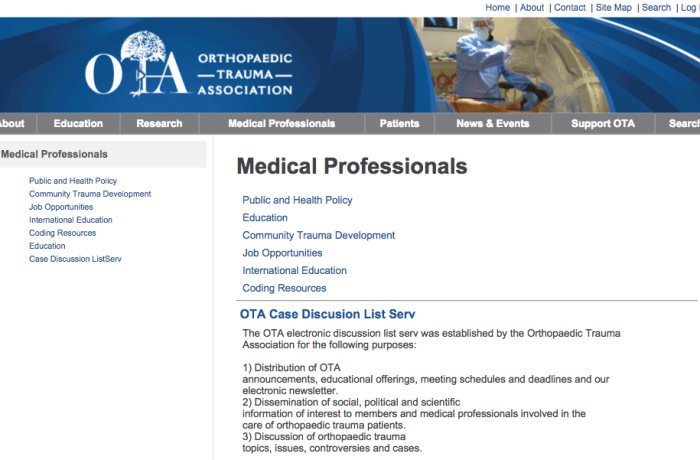 Orthopaedic Trauma Association