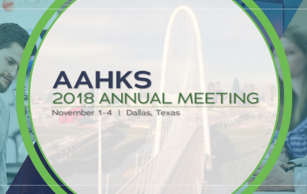 AAHKS Annual Meeting 2018 Promo